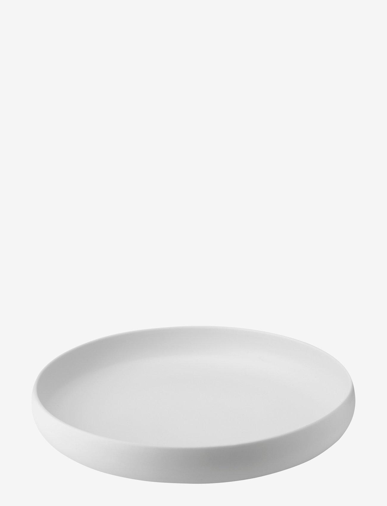 Knabstrup Keramik - Earth fat - serveringsfat - chalk white - 0