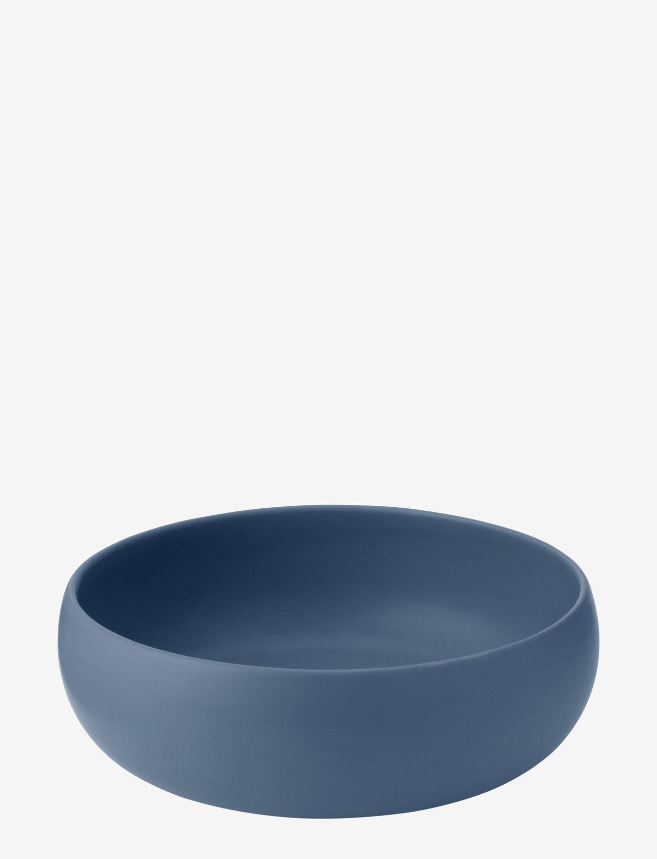 Knabstrup Keramik - Earth skål - salatboller - dusty blue - 0
