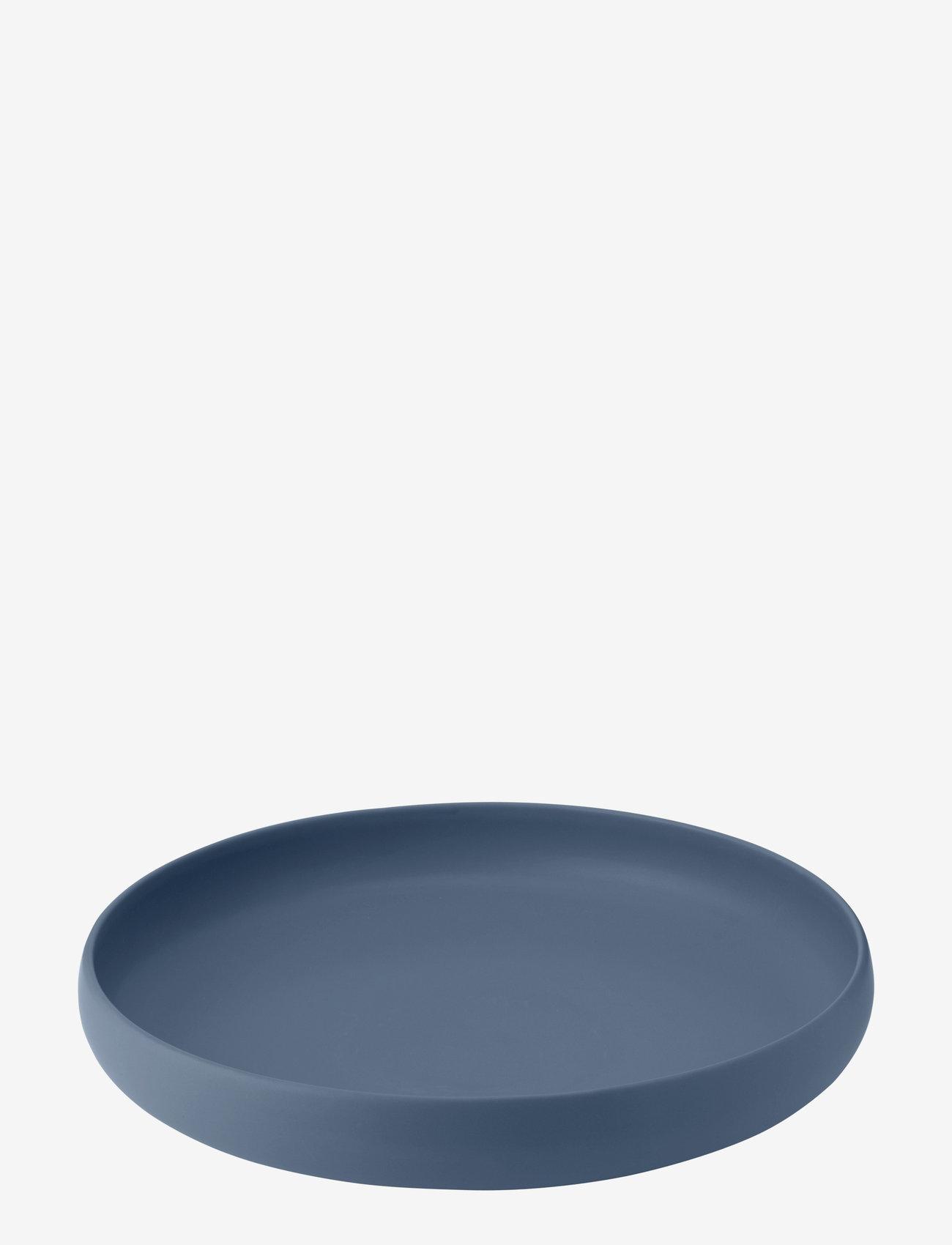 Knabstrup Keramik - Earth fat - serveringsfat - dusty blue - 0