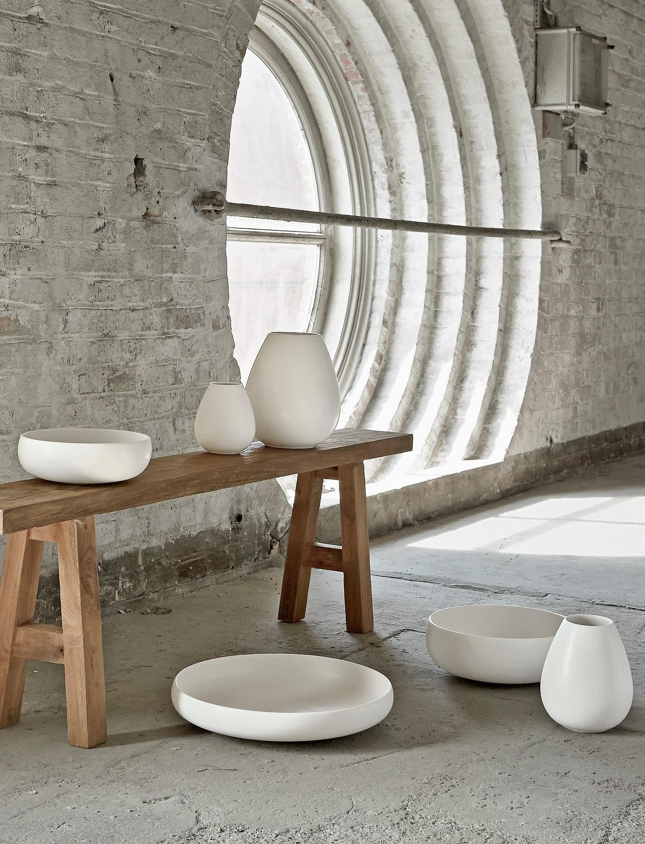 Knabstrup Keramik - Earth skål - salatboller - chalk white - 1