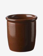 Pickle jar - BROWN