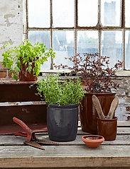 Knabstrup Keramik - Pickle jar - ruukut - anthracite grey - 0