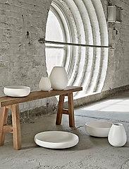 Knabstrup Keramik - Earth fat - serveringsfat - chalk white - 1