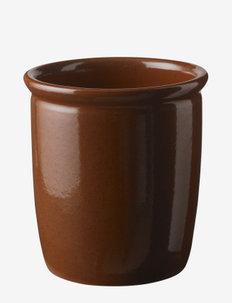 Pickle jar - kulhot - brown