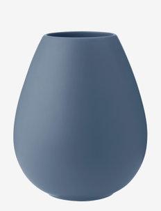 Earth vase - maljakot - dusty blue