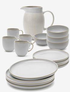 Tavola family set - astiastot ja astiasetit - white