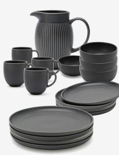 Tavola family set - astiastot ja astiasetit - grey