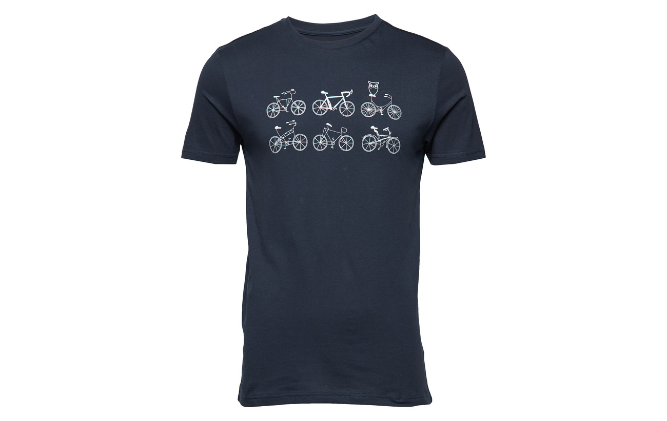 Bikes shirt Printed Black T Apparel Knowledge With Forrest Lin On A Cotton XqpXBwY