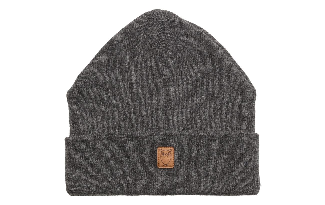 5c2a5d04c82 Beanie Organic Wool - Gots (Dark Grey Melange) (104.30 zł ...