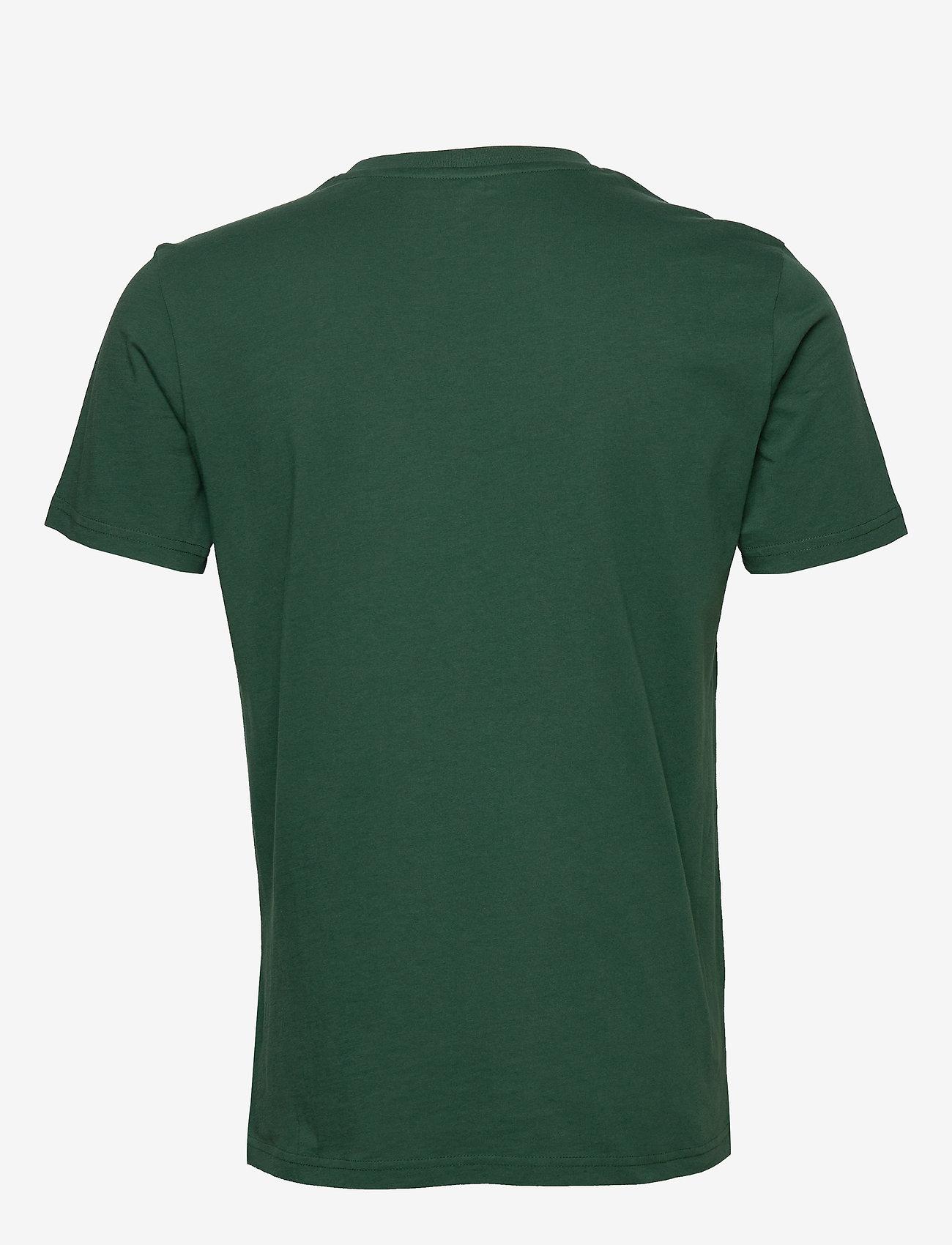 Knowledge Cotton Apparel ALDER owl chest tee - GOTS/Vegan - T-skjorter PINENEEDLE - Menn Klær