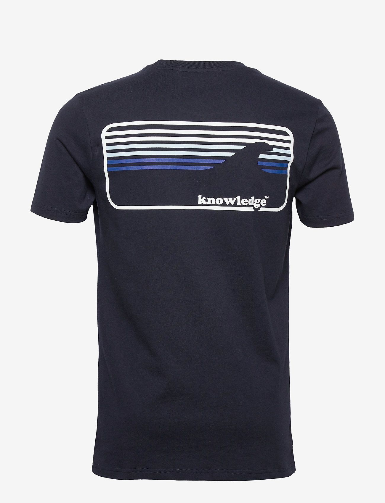 Knowledge Cotton Apparel ALDER knowledge tee - GOTS/Vegan - T-skjorter TOTAL ECLIPSE - Menn Klær