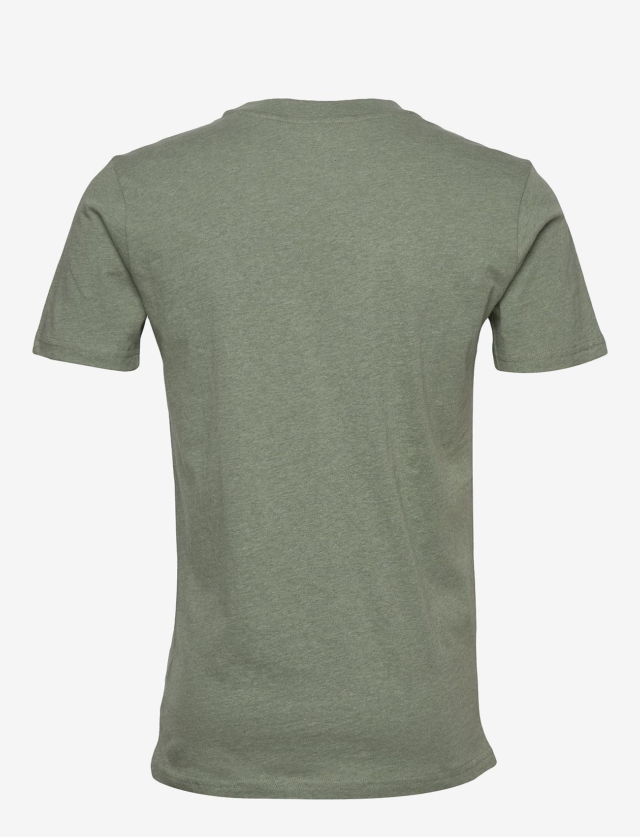 Knowledge Cotton Apparel ALDER big knowledge tee - GOTS/Vega - T-skjorter GREN MELANGE - Menn Klær