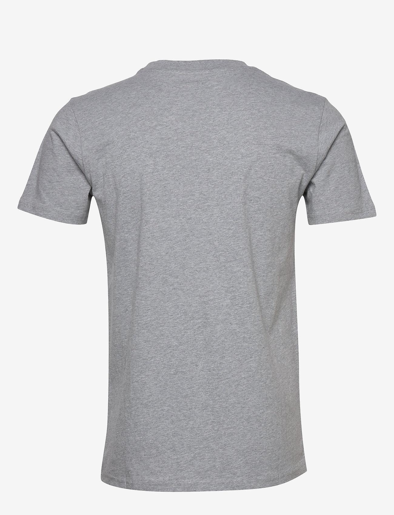 Knowledge Cotton Apparel ALDER big knowledge tee - GOTS/Vega - T-skjorter GREY MELANGE - Menn Klær