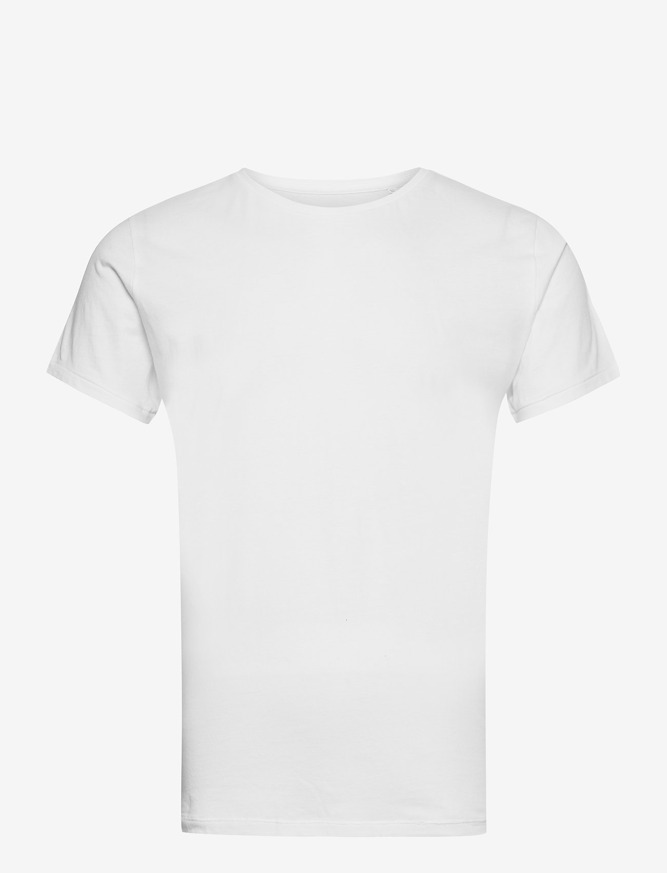Knowledge Cotton Apparel - ALDER 5 pack basic tee - flat packe - basic t-shirts - bright white - 8