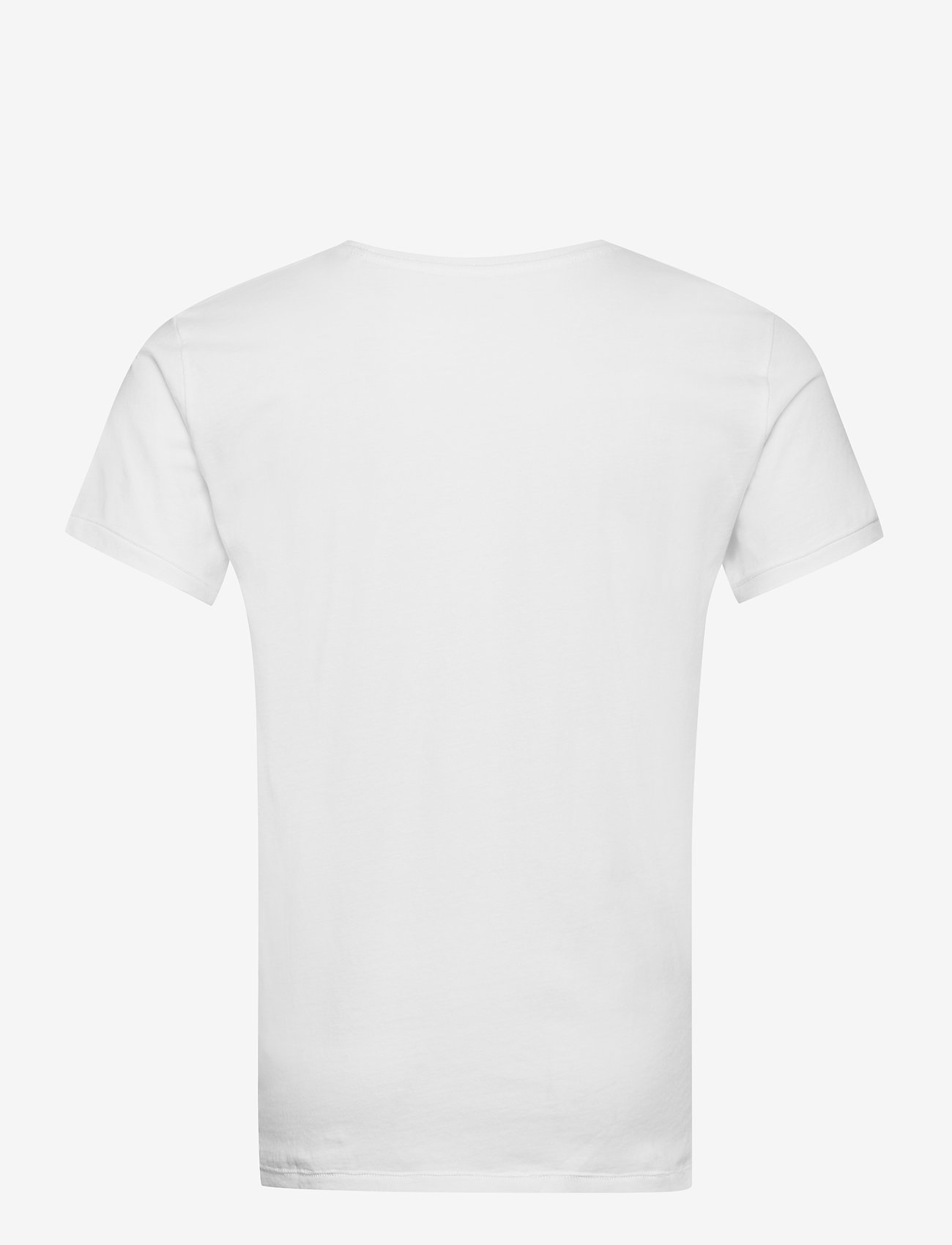Knowledge Cotton Apparel - ALDER 5 pack basic tee - flat packe - basic t-shirts - bright white - 3