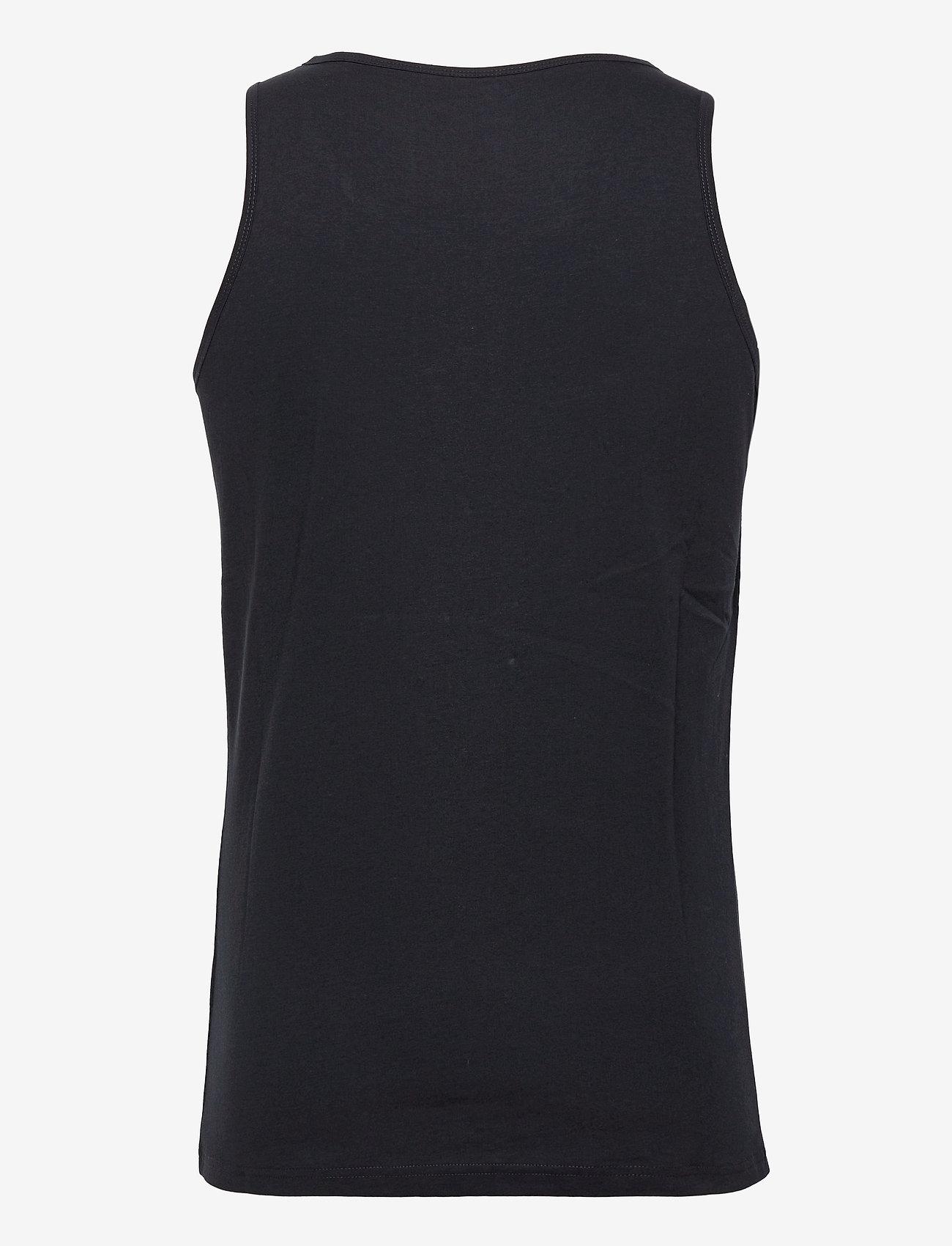 Knowledge Cotton Apparel - PALM owl chest tank top - GOTS/Vega - t-shirts sans manches - total eclipse - 1
