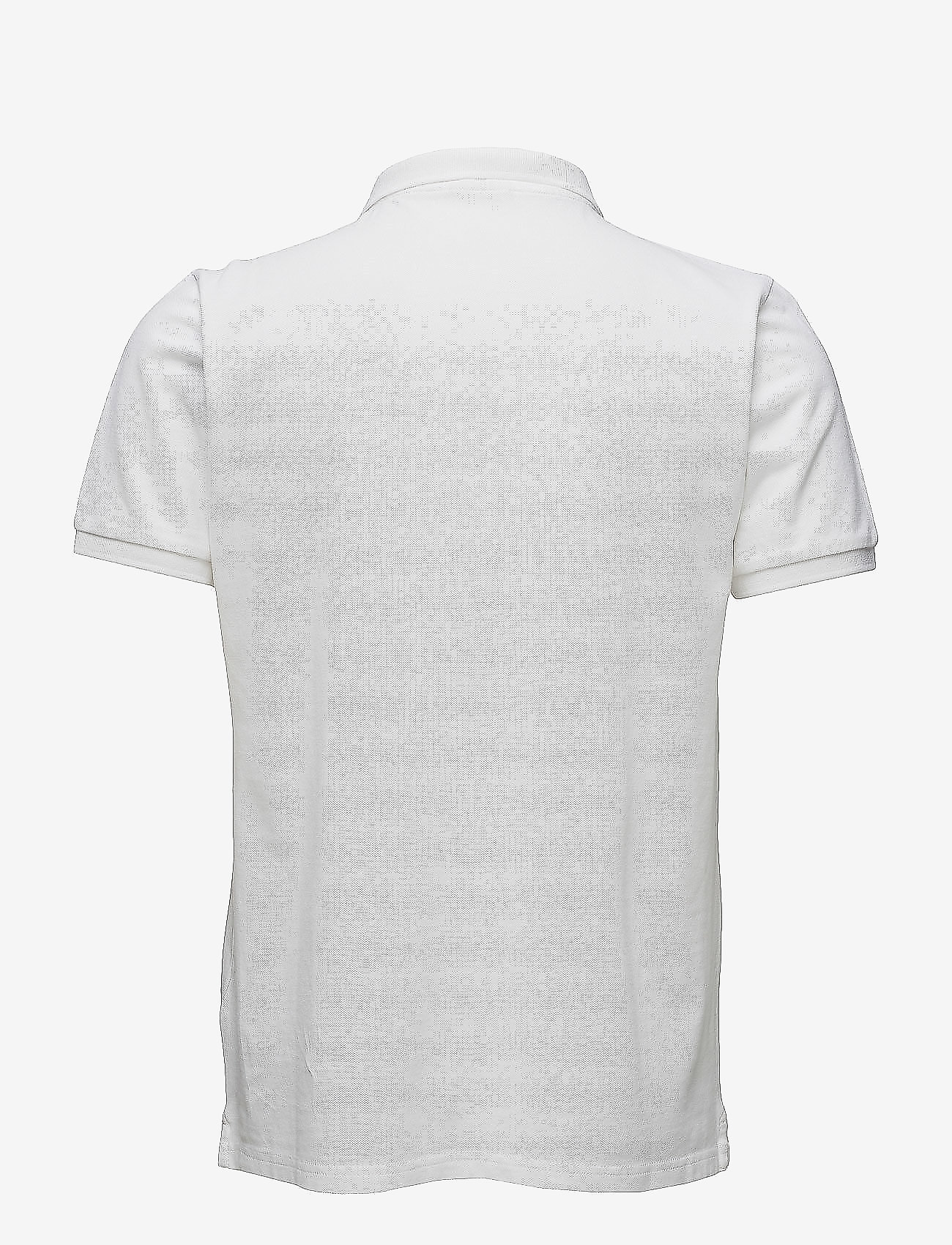Knowledge Cotton Apparel - Pique Polo -  GOTS/Vegan - lyhythihaiset - bright white - 1