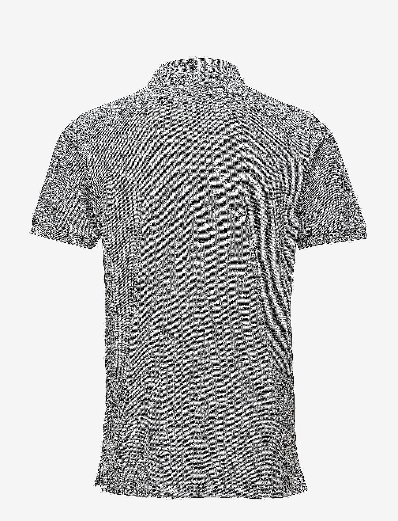 Knowledge Cotton Apparel - Pique Polo -  GOTS/Vegan - lyhythihaiset - grey melange - 1
