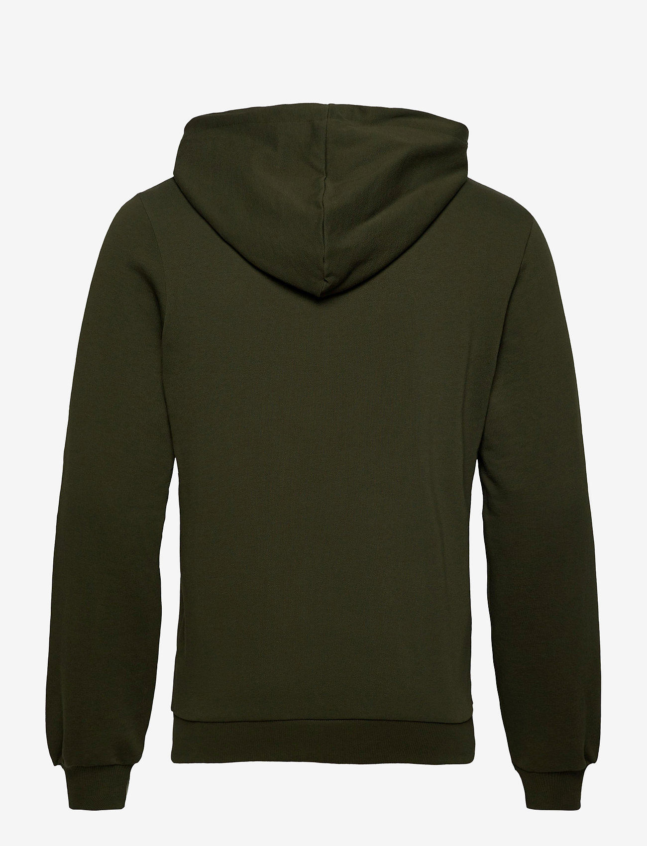 Knowledge Cotton Apparel - ELM knowledge transfer hood zip swe - basic sweatshirts - forrest night - 1