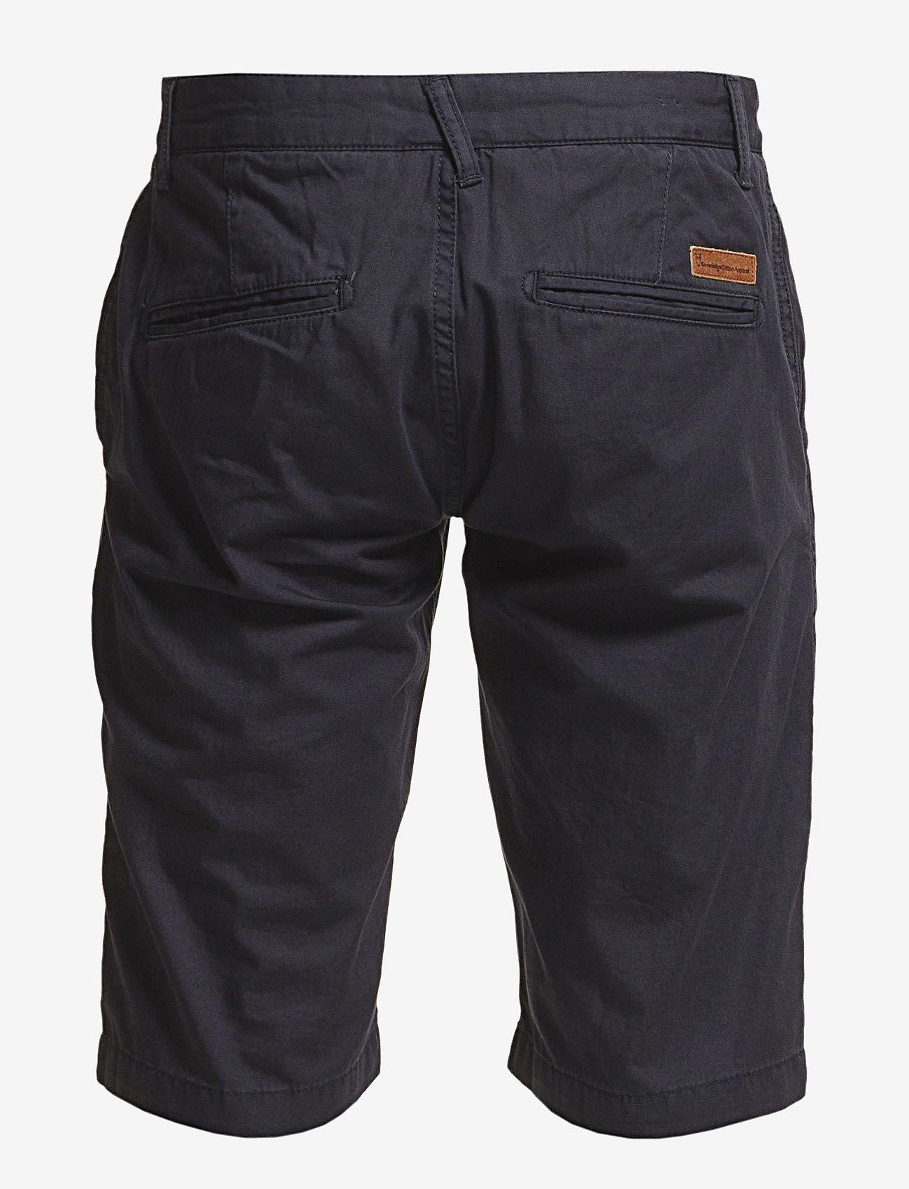 Knowledge Cotton Apparel - CHUCK chino shorts - apģērbs - total eclipse - 1
