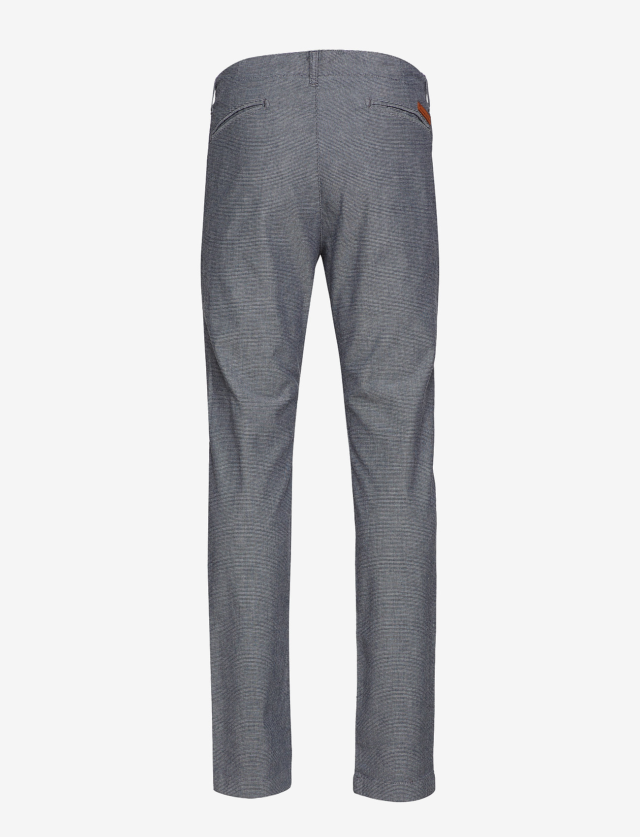 Knowledge Cotton Apparel Yarndyed 2-col Stretched Chino - Go Trousers