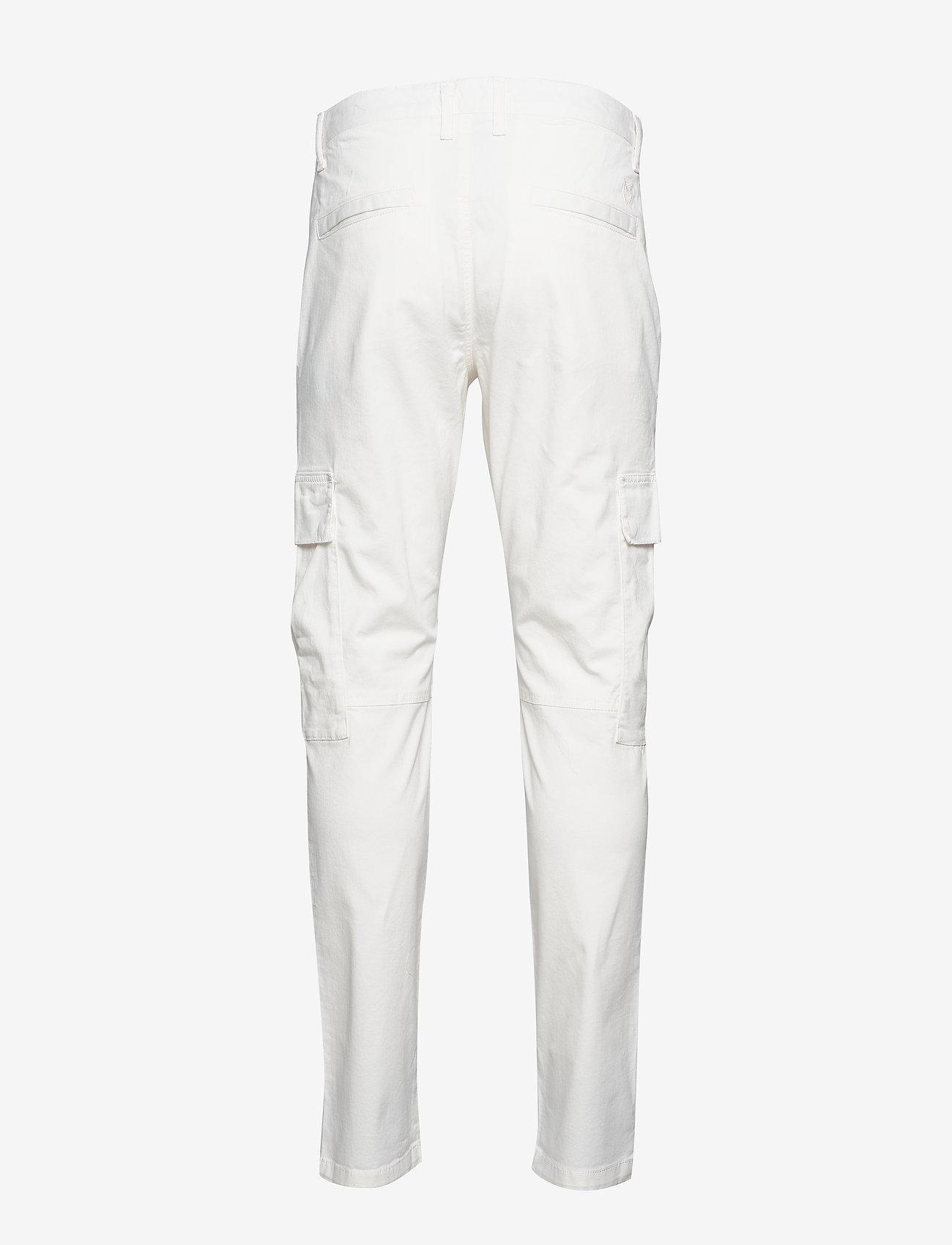 Knowledge Cotton Apparel - JOE trekking pant - GOTS/Vegan - cargobukser - star white - 1