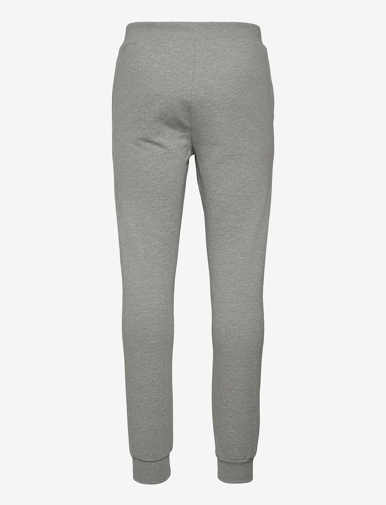 Knowledge Cotton Apparel - TEAK sweat pants - GOTS/Vegan - kleding - grey melange - 1