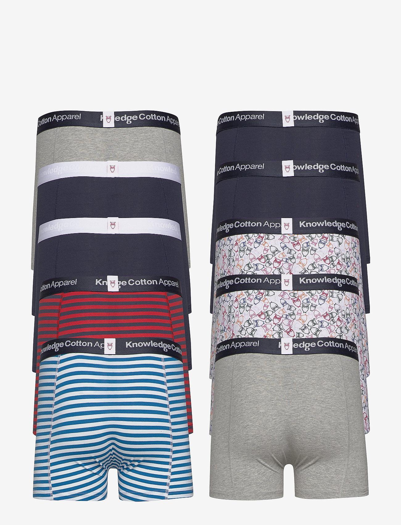 Knowledge Cotton Apparel Maple 10 Pack Underwear - Gots/vega Boxershorts Surf The Web