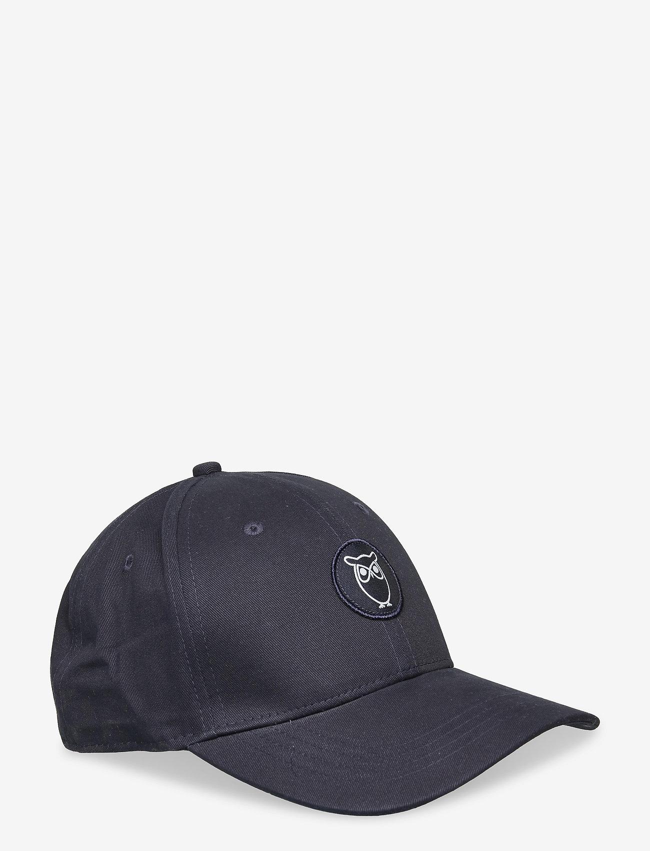 Knowledge Cotton Apparel - PACIFIC cap - GOTS/Vegan - total eclipse - 0