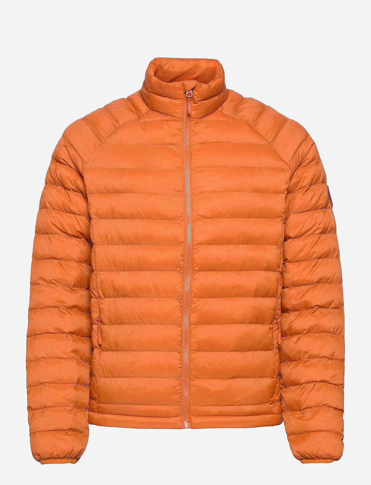 Knowledge Cotton Apparel - Eco Active Thermore™ Jacket - Vegan - vestes matelassées - rust - 0