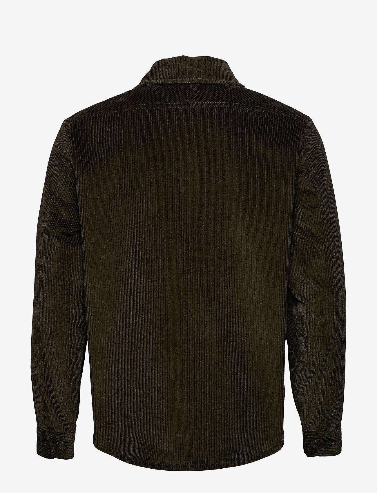 Knowledge Cotton Apparel 8 Wales Corduroy overshirt - GOTS/V - Jakker og frakker FORREST NIGHT - Menn Klær