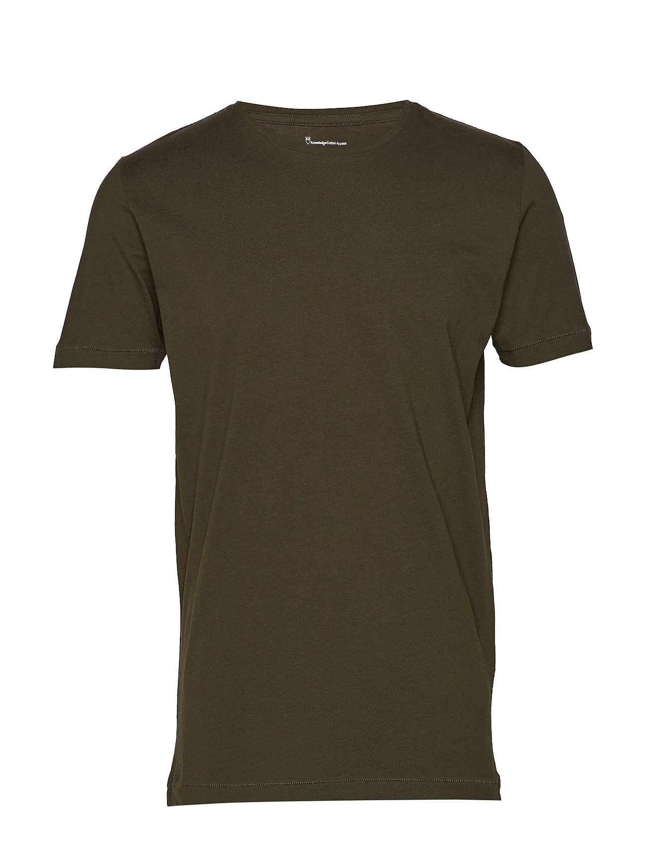 Knowledge Cotton Apparel ALDER basic tee - GOTS/Vegan - FORREST NIGHT