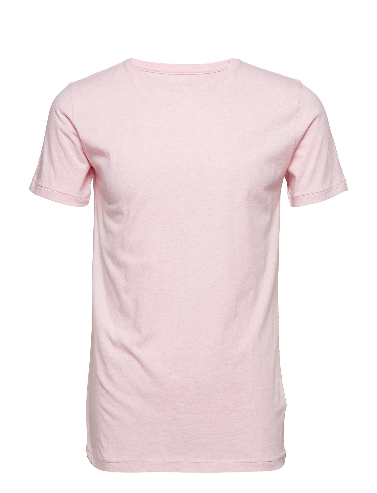 Knowledge Cotton Apparel ALDER basic tee - GOTS/Vegan - PINK MELANGE