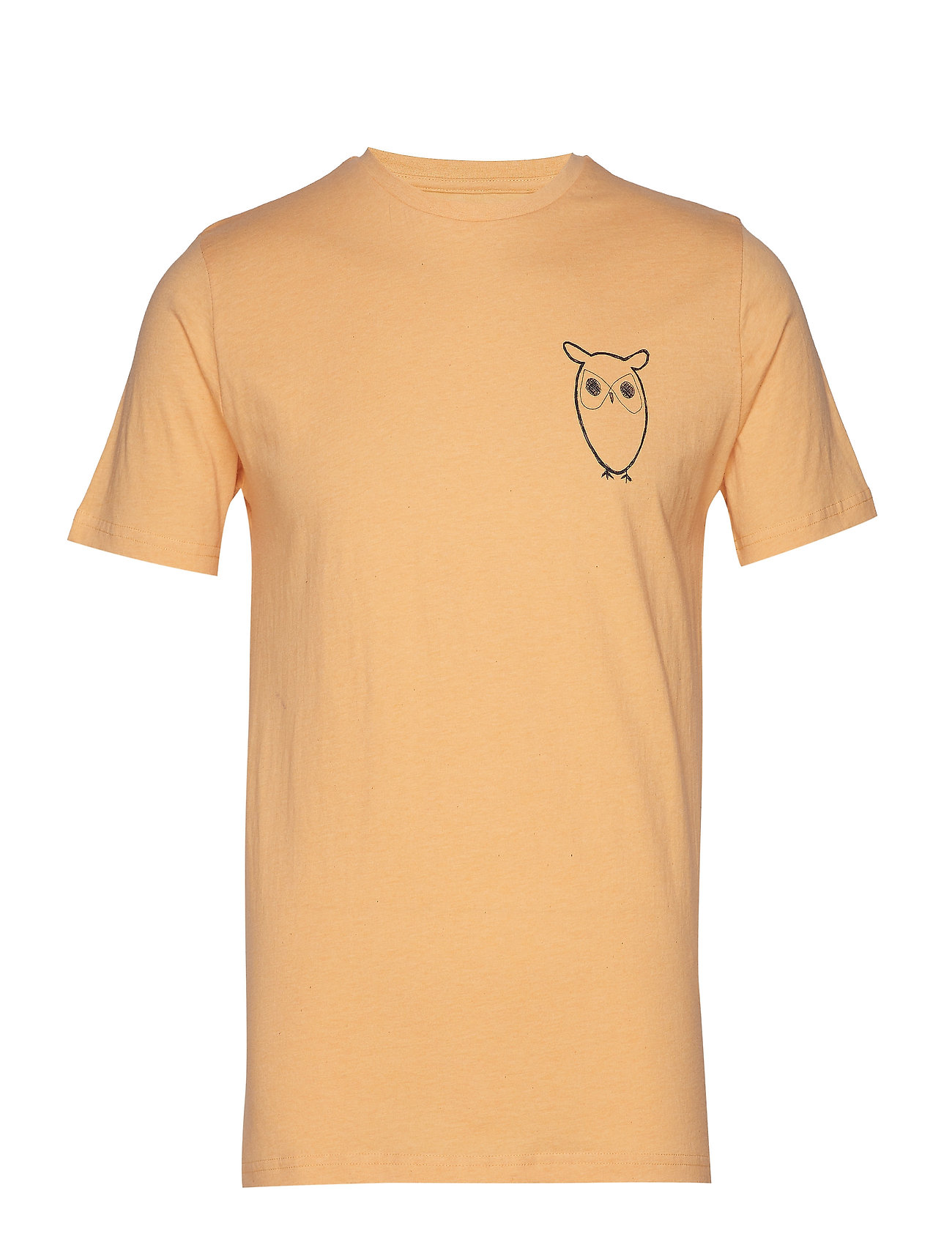 Image of T-Shirt With Owl Chest Logo - Gots T-shirt Knowledge Cotton Apparel (3169766243)