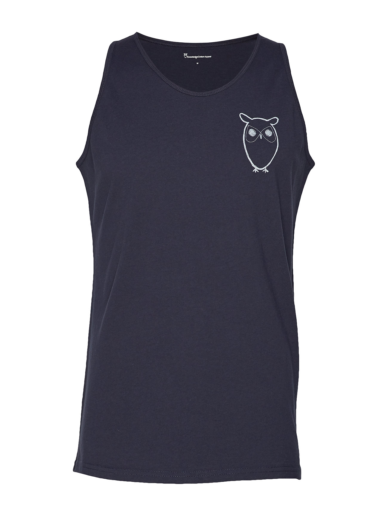 Cotton With Apparel Top Owl Chest LogoGotstotal Tank EclipseKnowledge zMSVUp