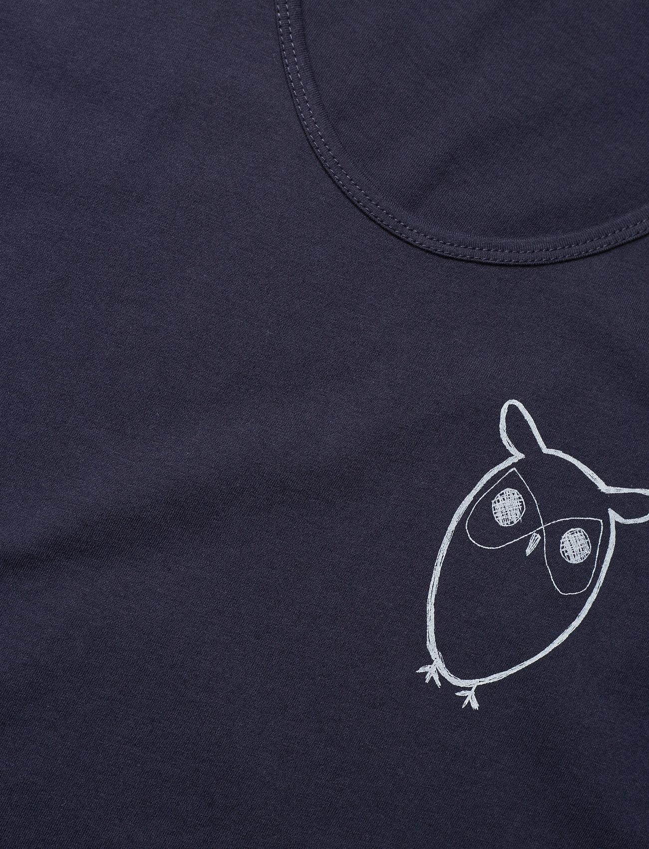 Knowledge Cotton Apparel PALM owl chest tank top - GOTS/Vega - T-skjorter TOTAL ECLIPSE - Menn Klær