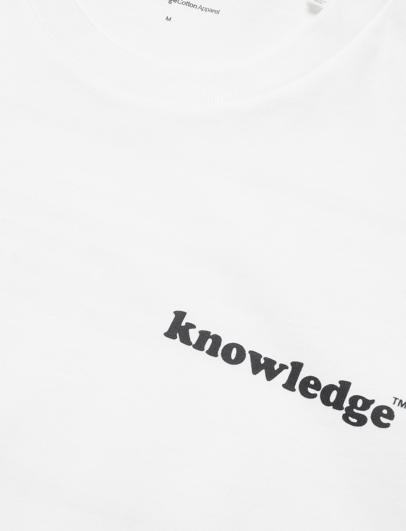 Knowledge Cotton Apparel ALDER knowledge tee - GOTS/Vegan - T-skjorter BRIGHT WHITE - Menn Klær