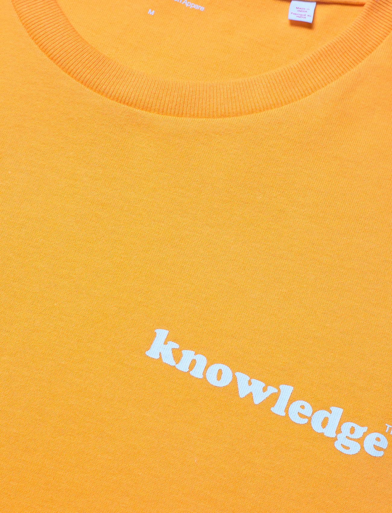 Knowledge Cotton Apparel ALDER knowledge tee - GOTS/Vegan - T-skjorter ZENNIA YELLOW - Menn Klær