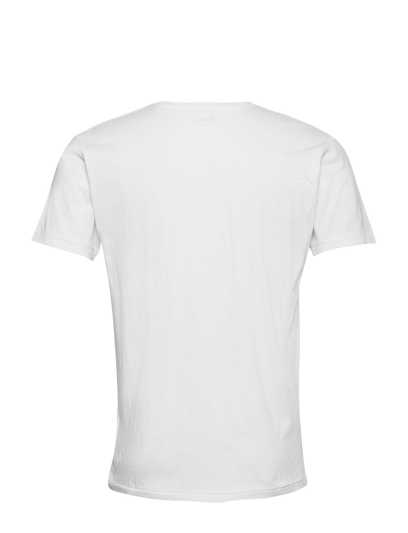 Knowledge Cotton Apparel - ALDER 5 pack basic tee - flat packe - basic t-shirts - bright white - 11