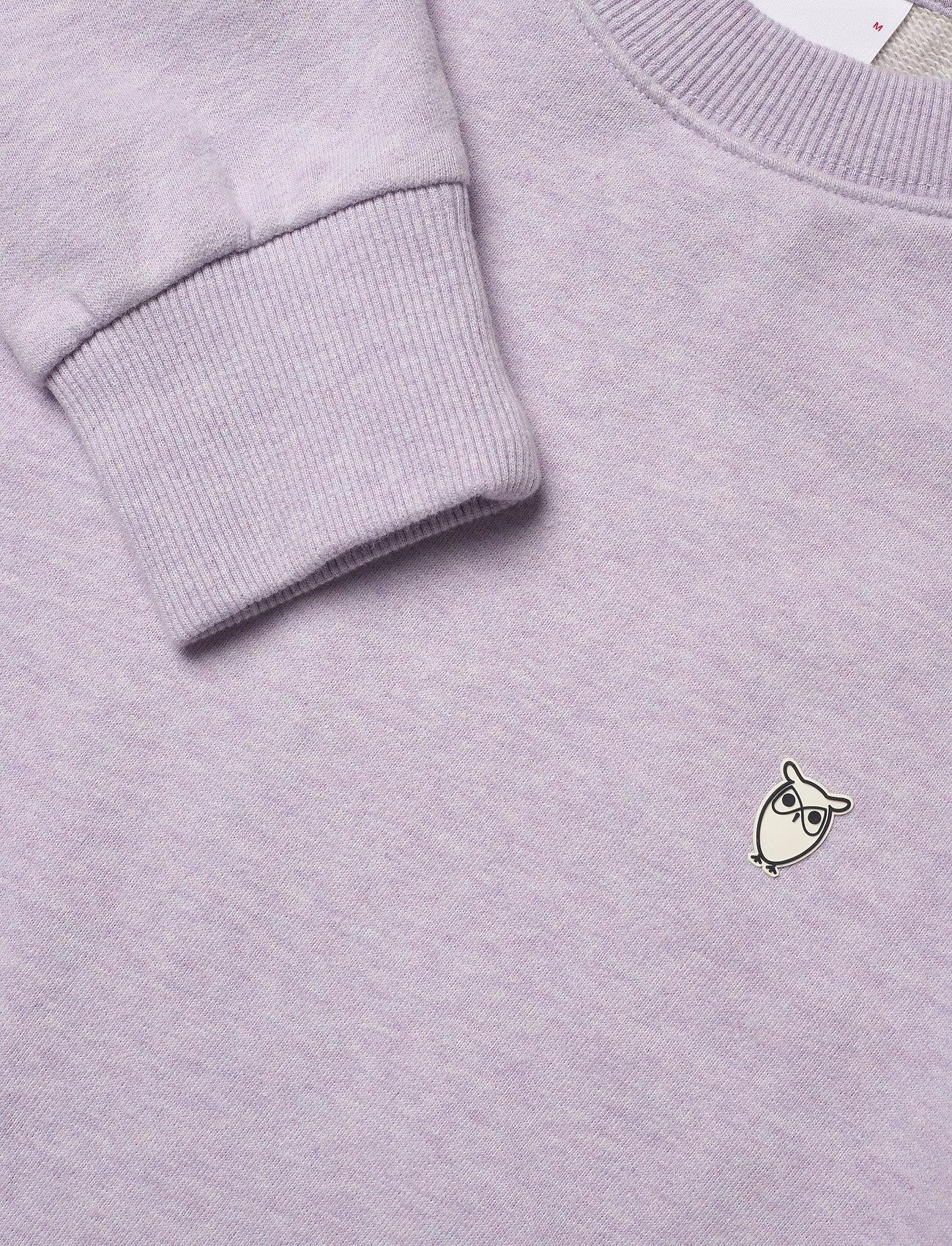 Elm Small Owl Sweat - Gots/vegan (Lavender Melange) (51.97 €) - Knowledge Cotton Apparel vk8UvRss