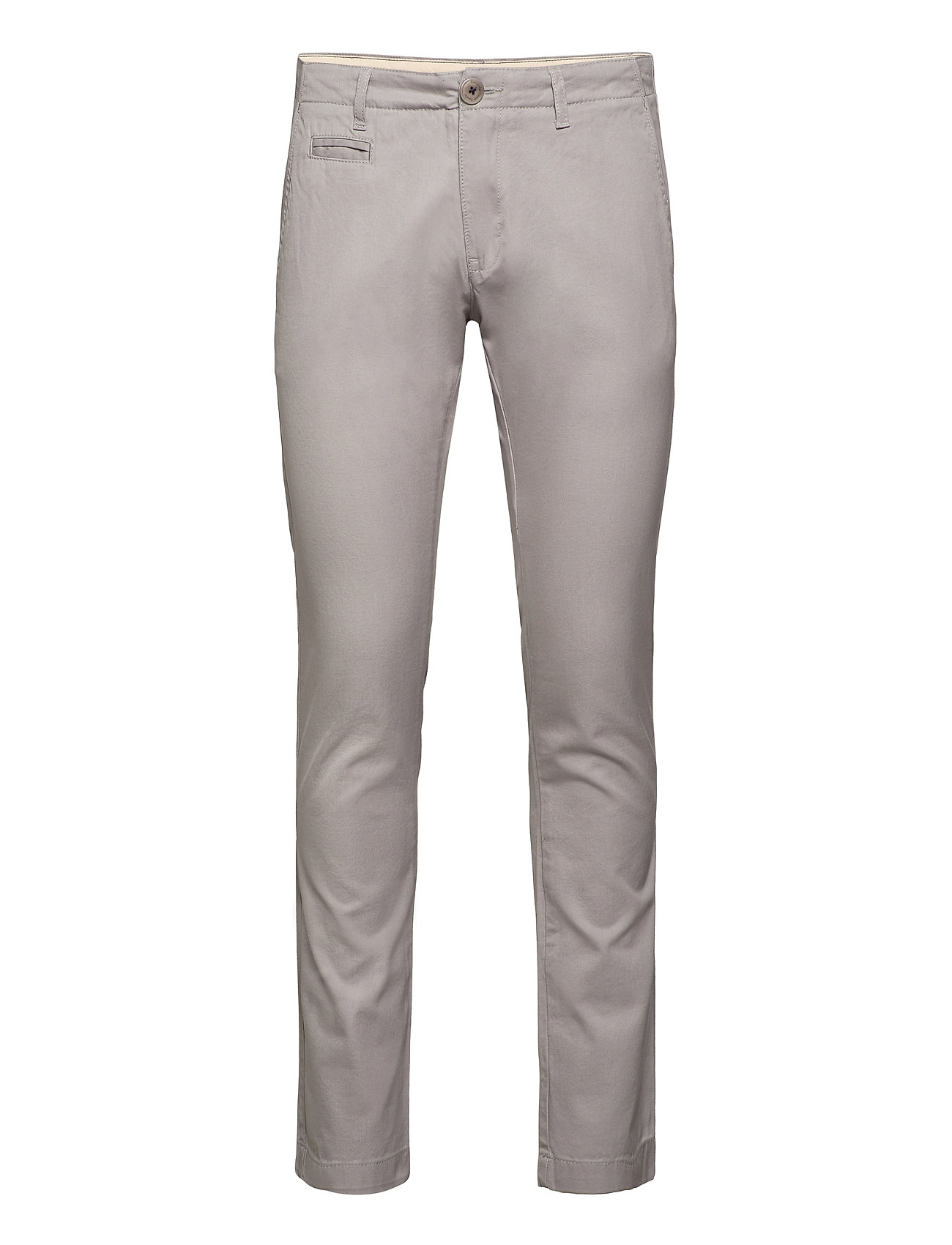 Knowledge Cotton Apparel Twisted Twill Chinos - ALLOY