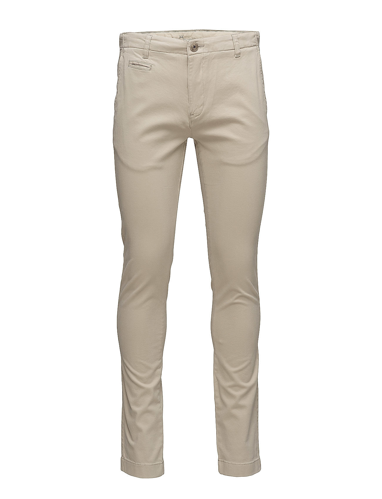 Knowledge Cotton Apparel JOE chino pant - LIGHT FEATHER GRAY