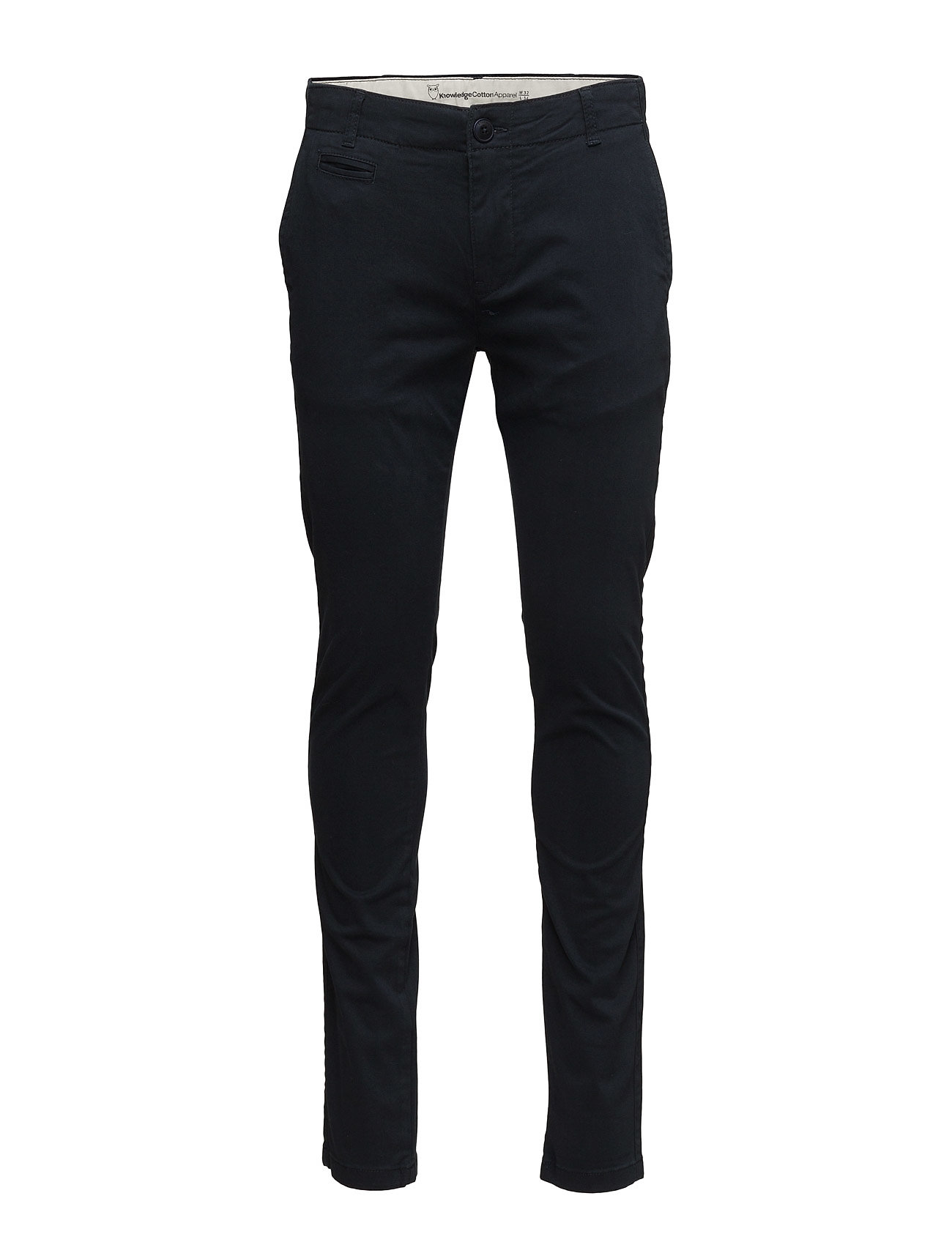 Knowledge Cotton Apparel JOE chino pant - TOTAL ECLIPSE