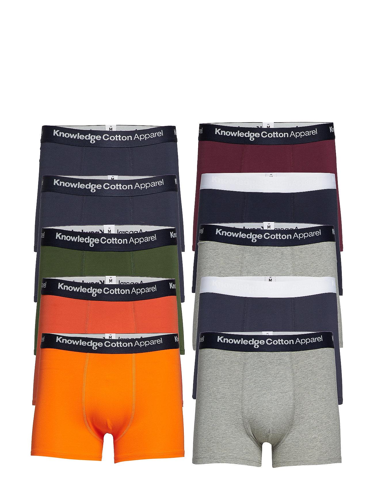 Knowledge Cotton Apparel MAPLE 10 pack underwear - GOTS/Vega - TOTAL ECLIPSE
