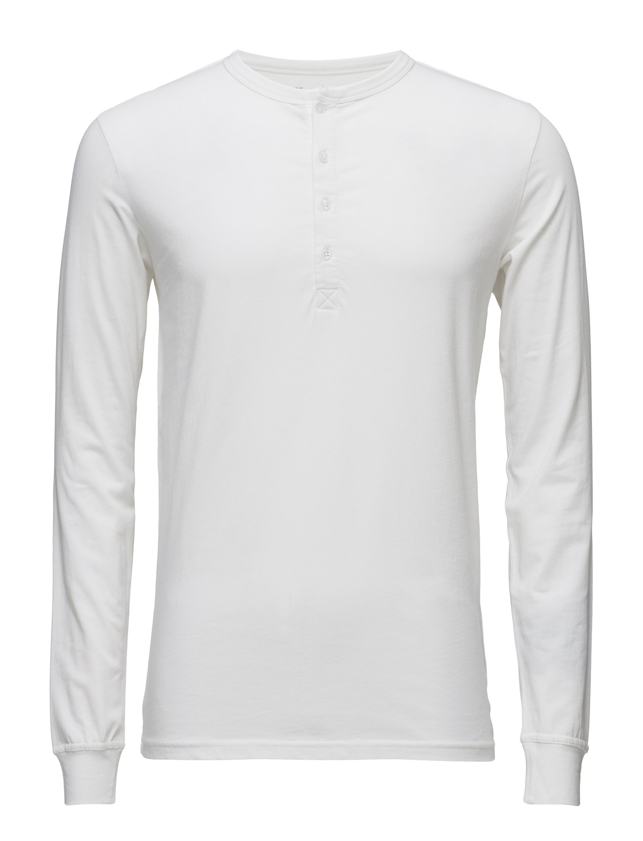 Knowledge Cotton Apparel Henley W Stretch GOTS Ögrönlar