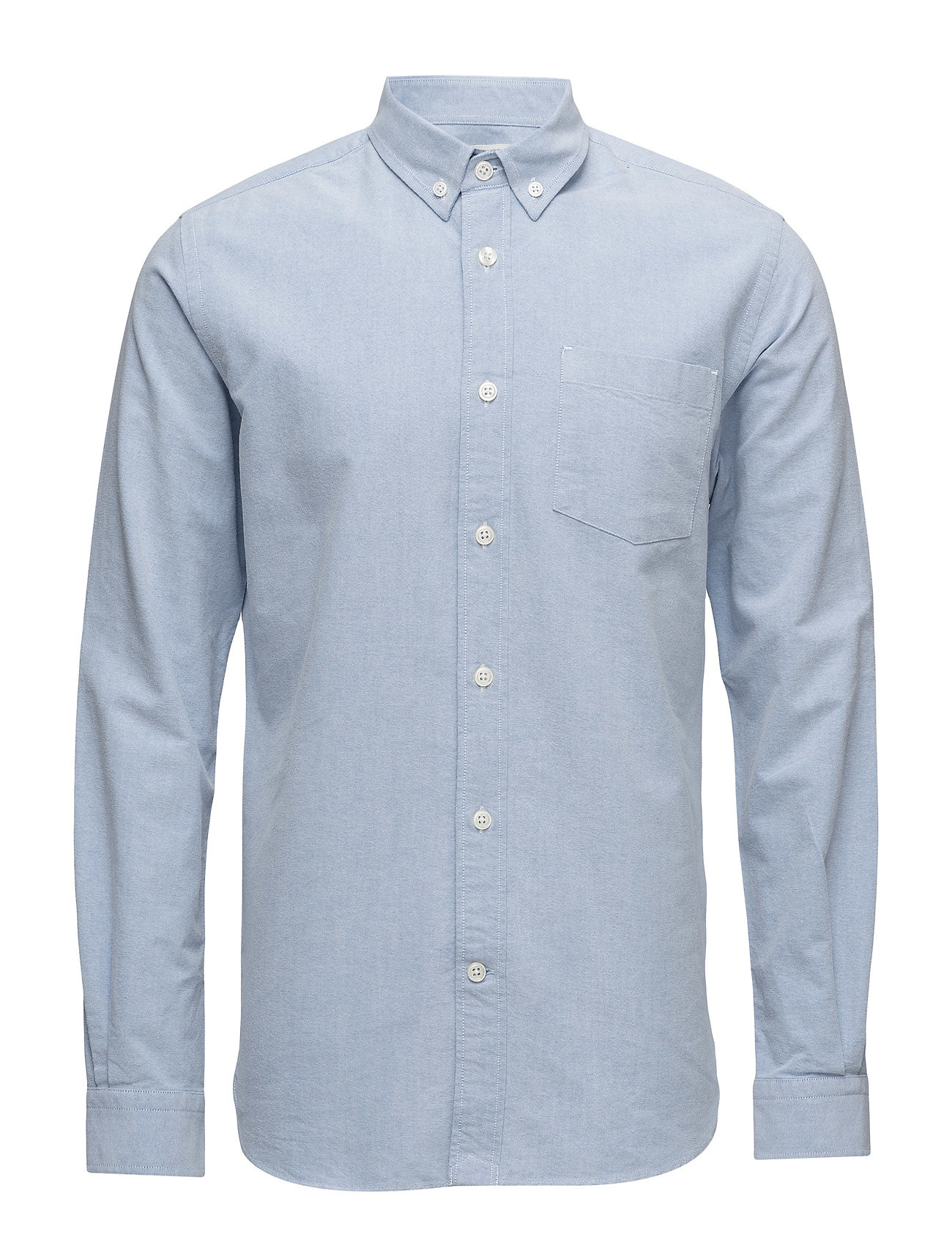 Knowledge Cotton Apparel Button Down Oxford Shirt - GOTS/Veg - LIMOGES