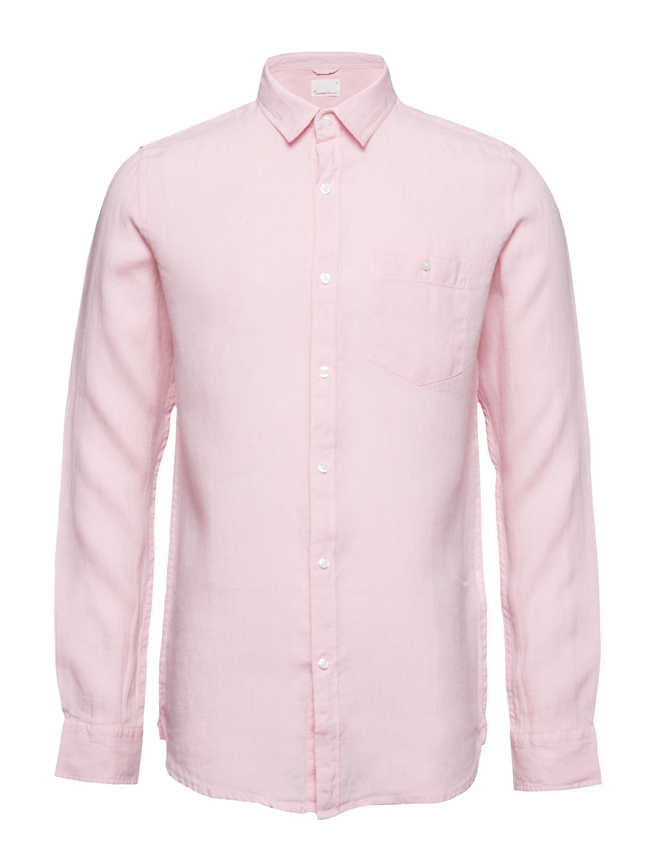 Knowledge Cotton Apparel LARCH LS shirt - PINK NECTAR