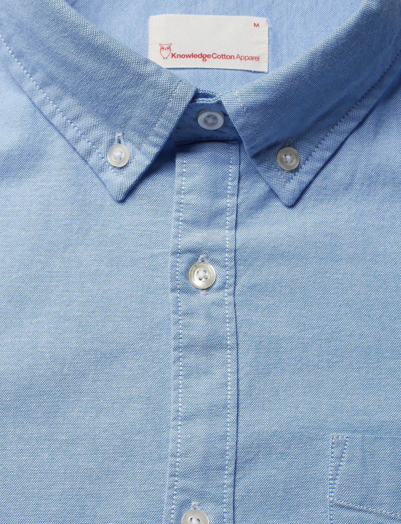 veganlapis Oxford Cotton BlueKnowledge Elder Ls ShirtGots Apparel XiOZPkuT