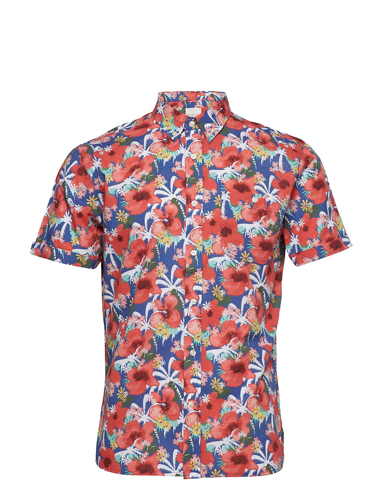 Knowledge Cotton Apparel Light poplin shirt - short sleeved
