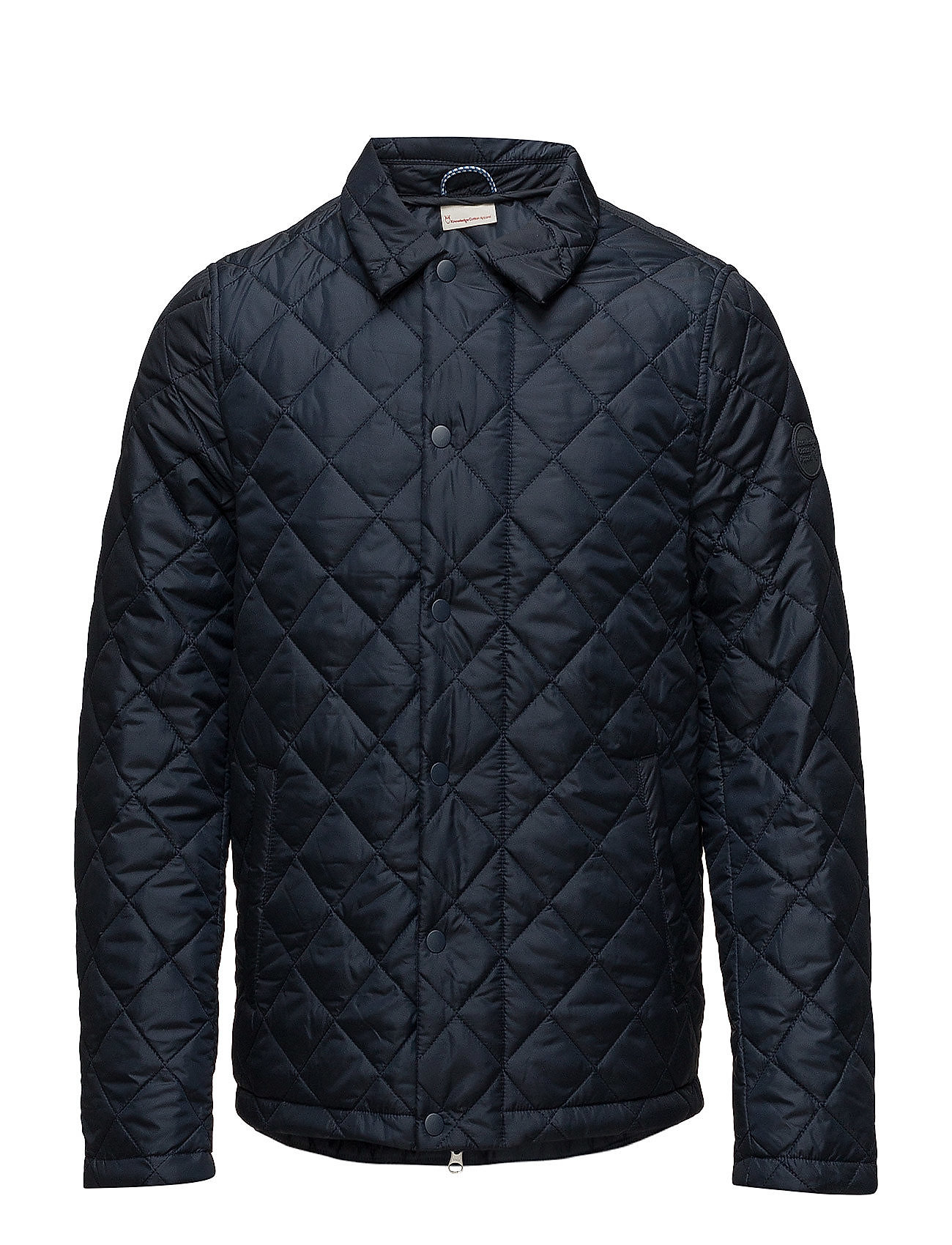 Knowledge Cotton Apparel Quilted jacket - GRS - TOTAL ECLIPSE